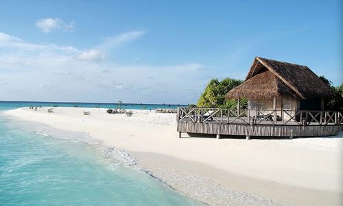 【暑期】马尔代夫双鱼岛olhuveli4晚6日自由行(香港转机 2豪华房+2豪