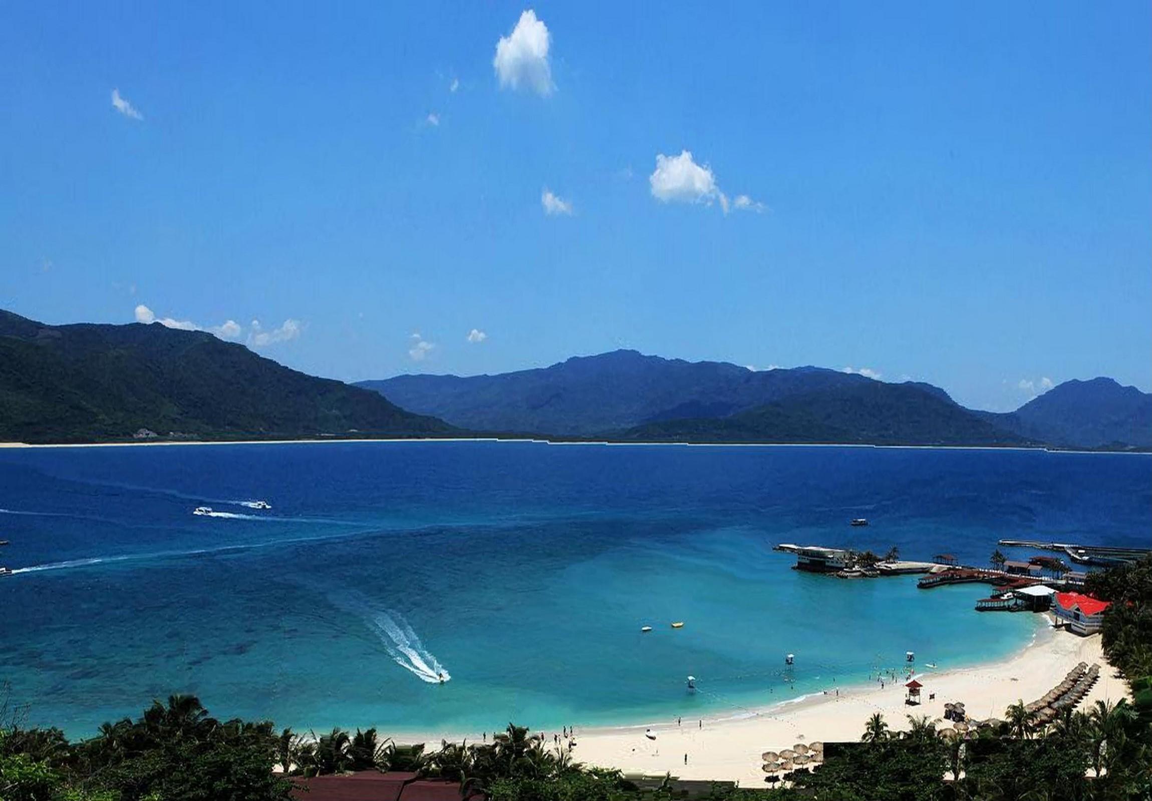 【纯净】海南三亚+分界洲岛+热带天堂纯净特价4晚5