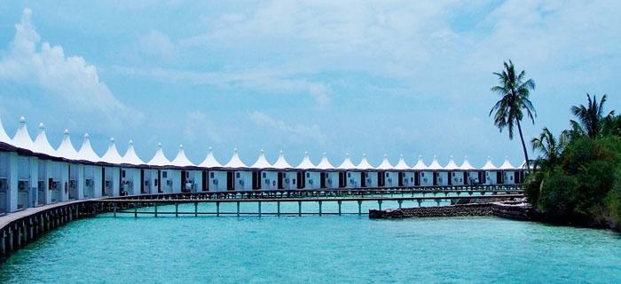 马尔代夫哈库拉岛精品质4晚6日游
