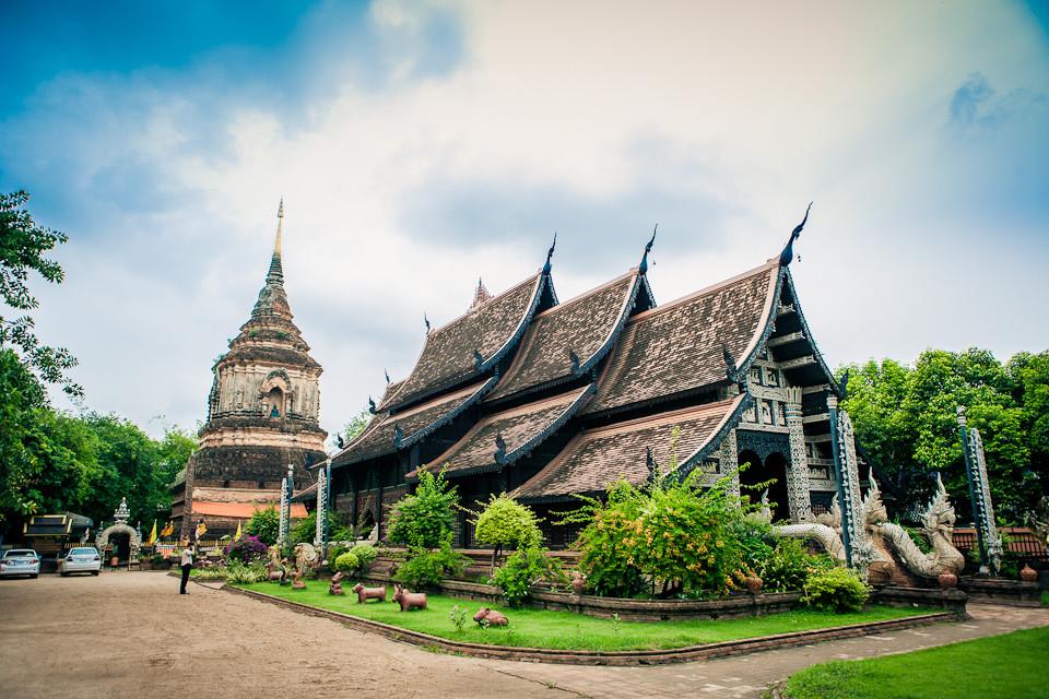 泰国大塔寺旅游纪念照图片