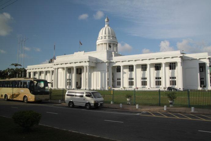 旧国会大厦-斯里兰卡 马尔代夫6晚8日半自助游 斯航直飞,全程四飞图片