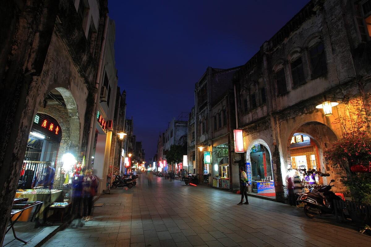 北海南珠市场街景