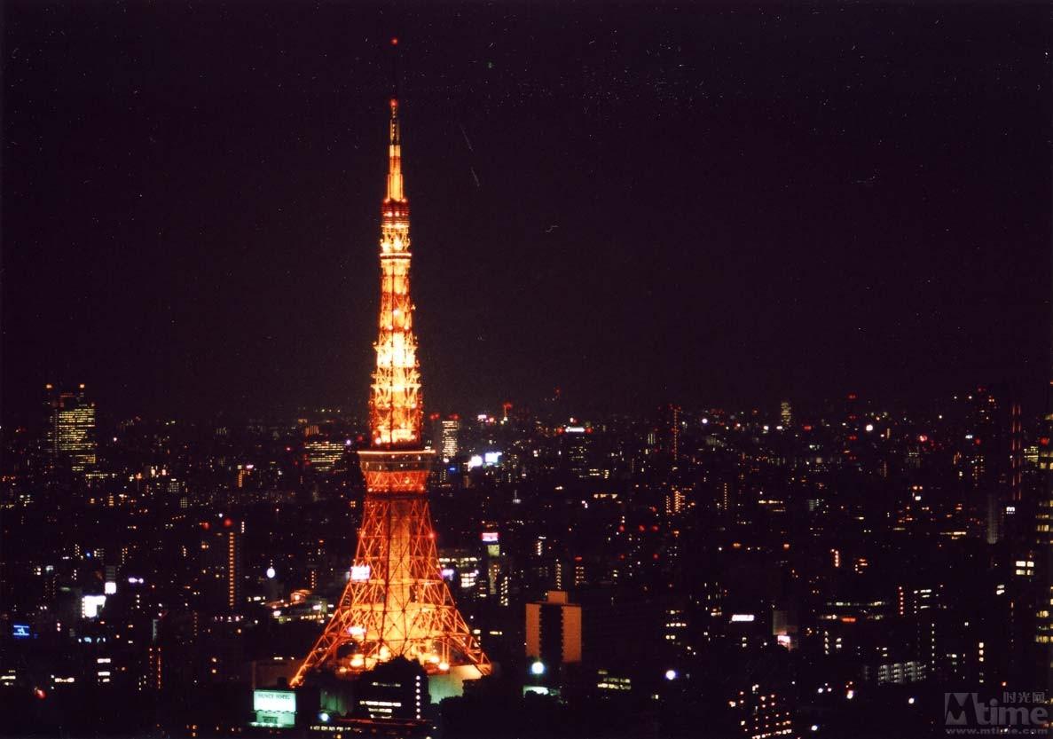 东京铁塔唯美图片