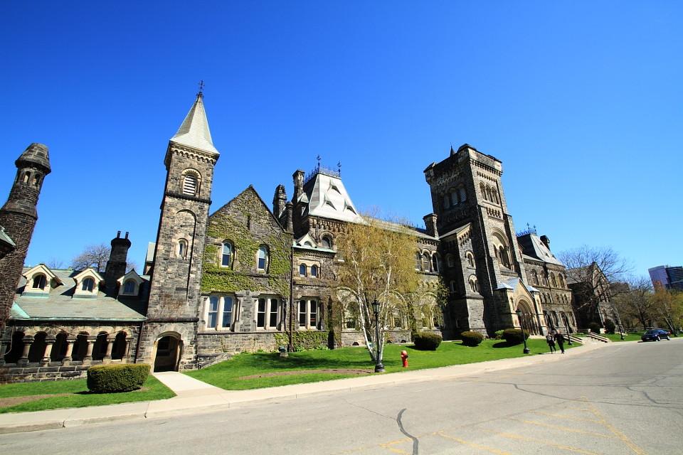 多伦多大学风景速写