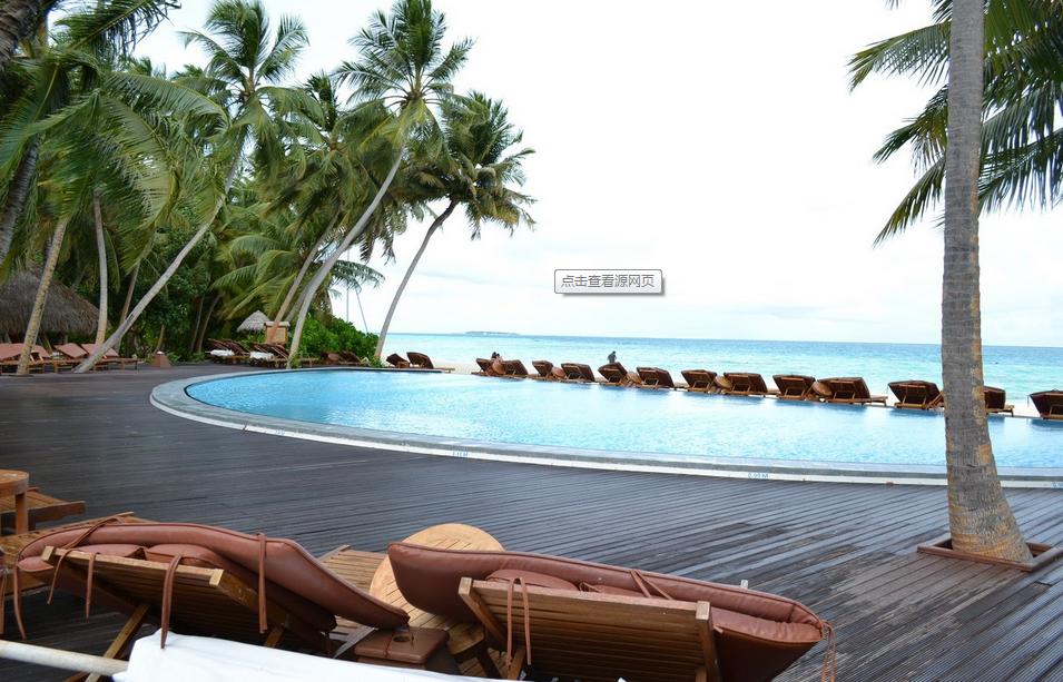 马尔代夫曼德芙岛4晚6日自由行 美佳直飞,2沙2水,水飞上岛高清图片