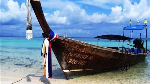 全国唯一海豚保护区之帝王岛.