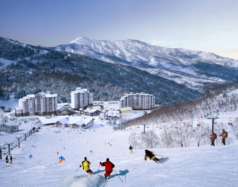 韩国乐天风景