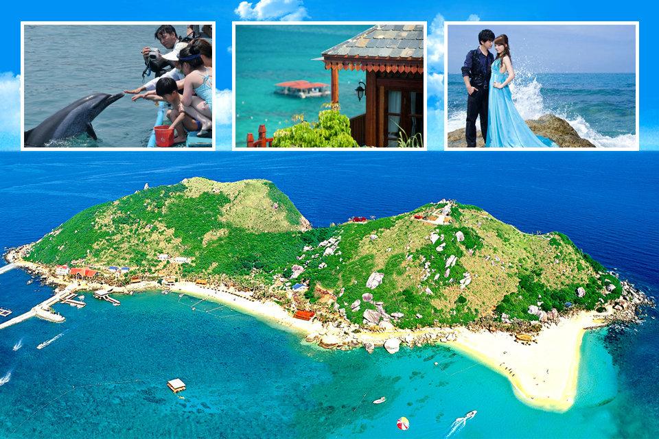 海南品质双飞五日——分界洲岛
