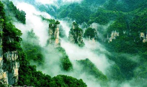 广西南宁锦绣山风景区
