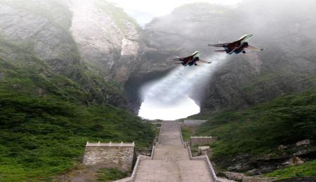 【错峰】温州出发,湖南张家界 玻璃桥 玻璃栈道 凤凰古城双飞6日游