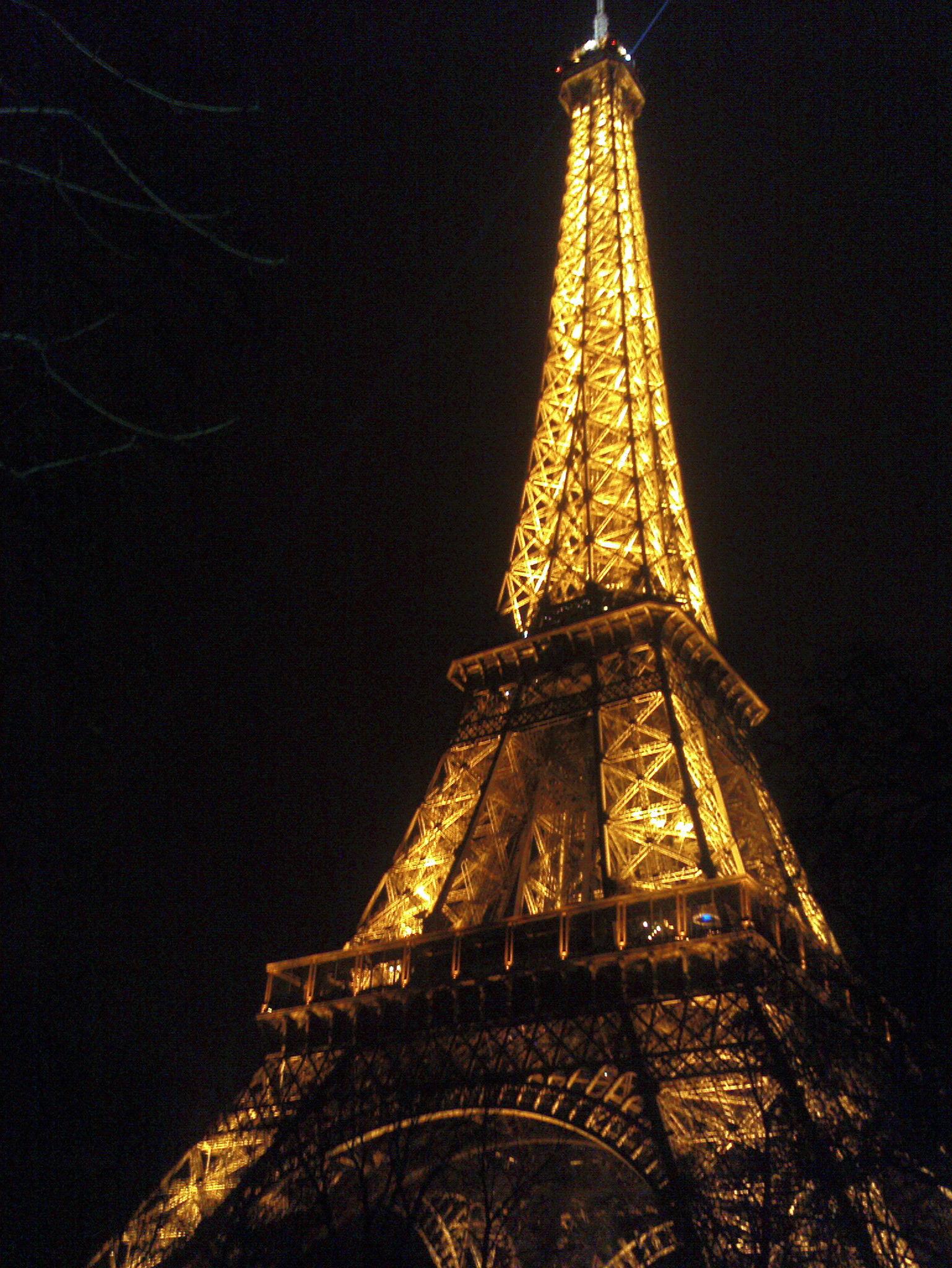 双巴黎铁塔图片