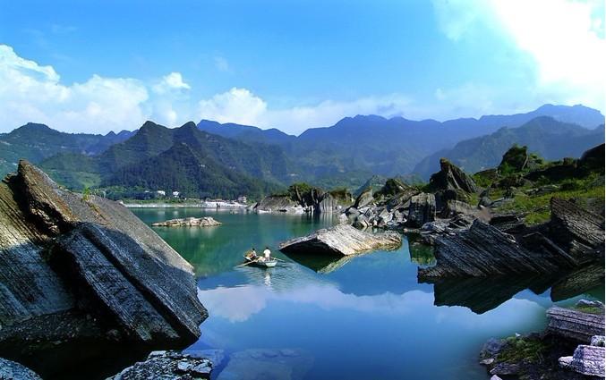 石泉水利风景区