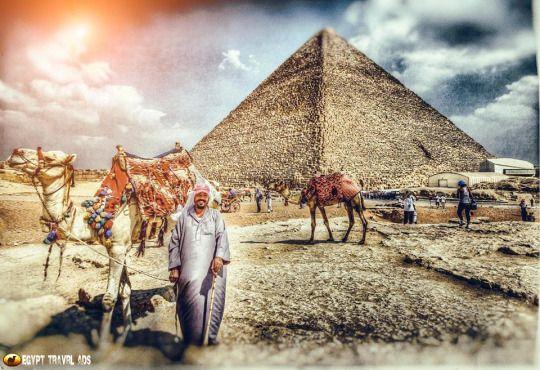 早餐后前往游览古埃及文明的象征图片