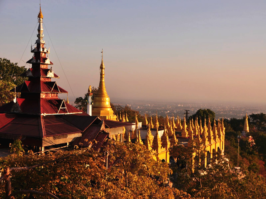 缅甸仰光+内比都+蒲甘+曼德勒5晚6日(南航直飞,网评3星酒店,赠送观赏