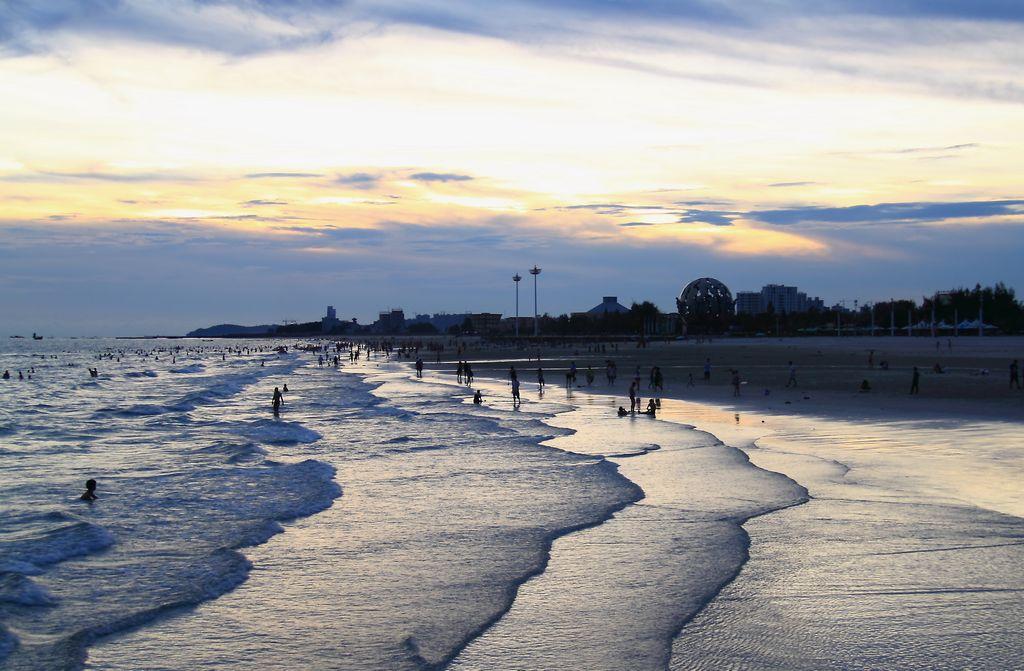 北海银滩摄影