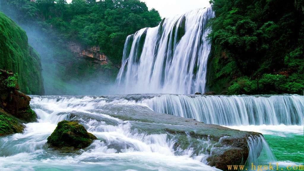 壁纸 风景 旅游 瀑布 山水 桌面 1024_579