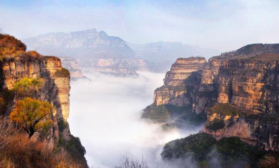 【春节】 安阳,林州红旗渠,太行大峡谷,挂壁公路,郭亮