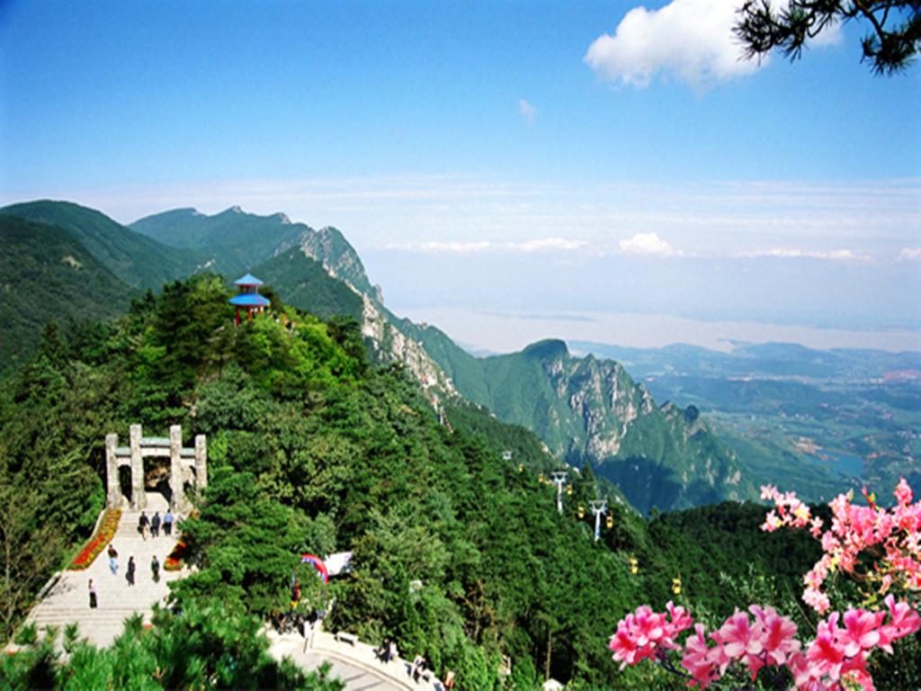 最美丽的风景写庐山