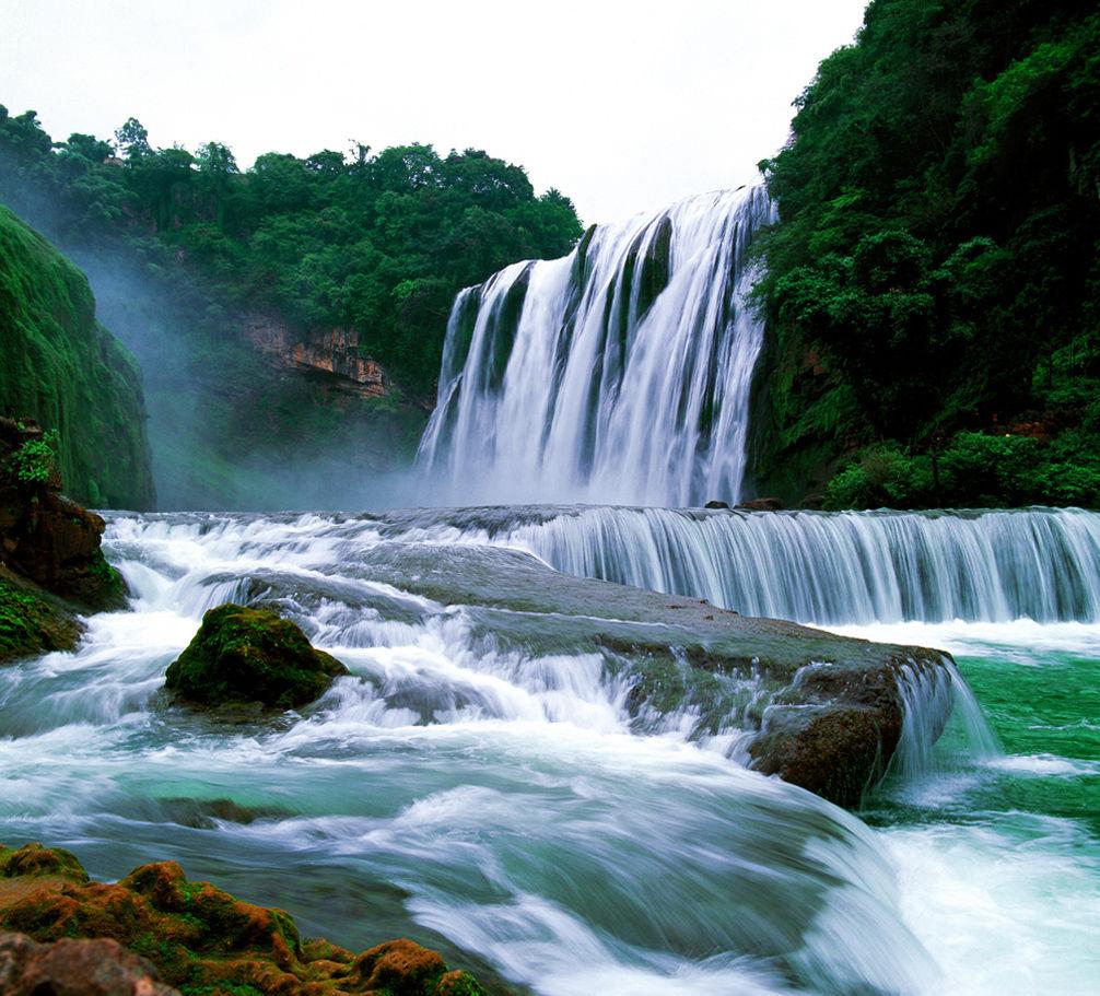 壁纸 风景 旅游 瀑布 山水 桌面 1006_911