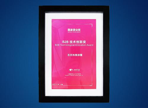 """2017国家旅业奖""""B2B技术创新奖"""""""