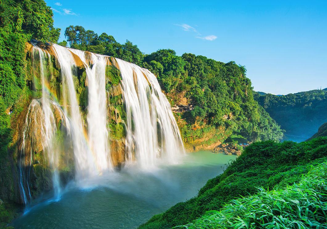 壁纸 风景 旅游 瀑布 山水 桌面 1061_743