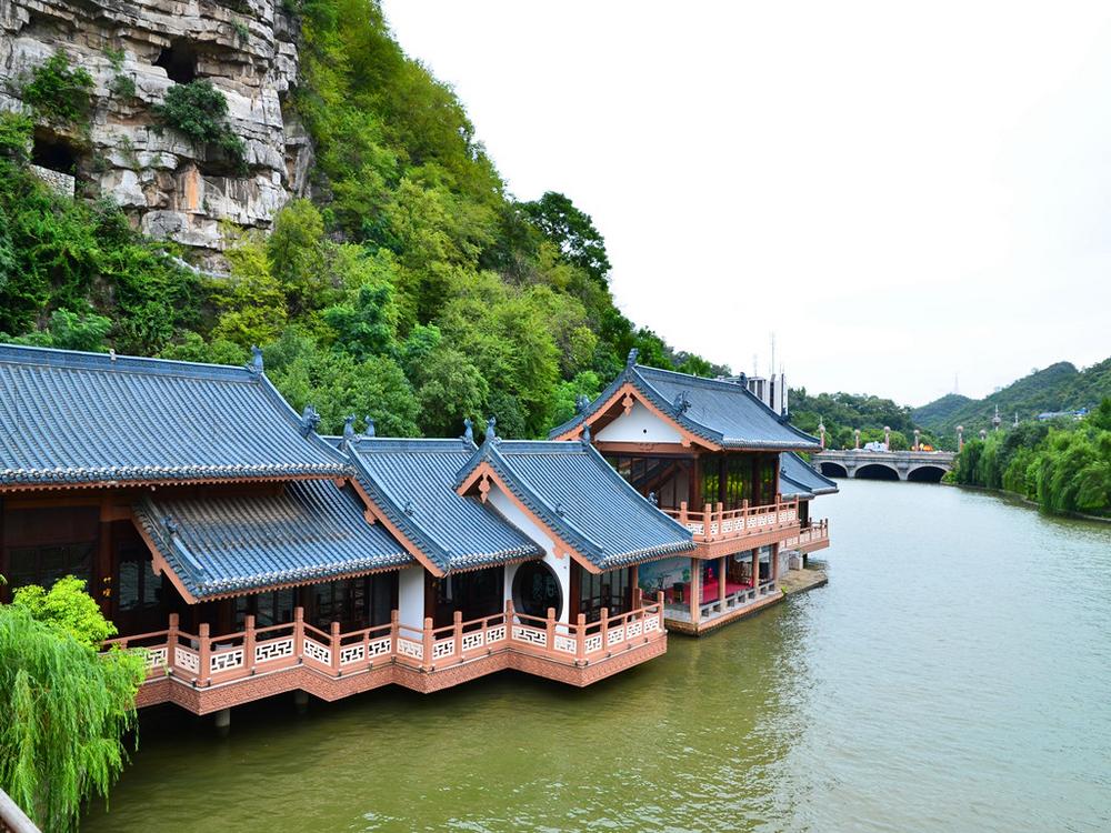 【发现美·东岸风景】广西桂林逍遥湖,冠岩,西塘,兴坪