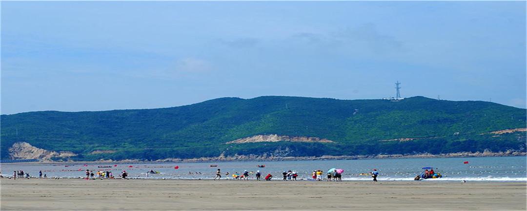 【暑期】h68象山松兰山海滨浴场,中国第五大佛教名山