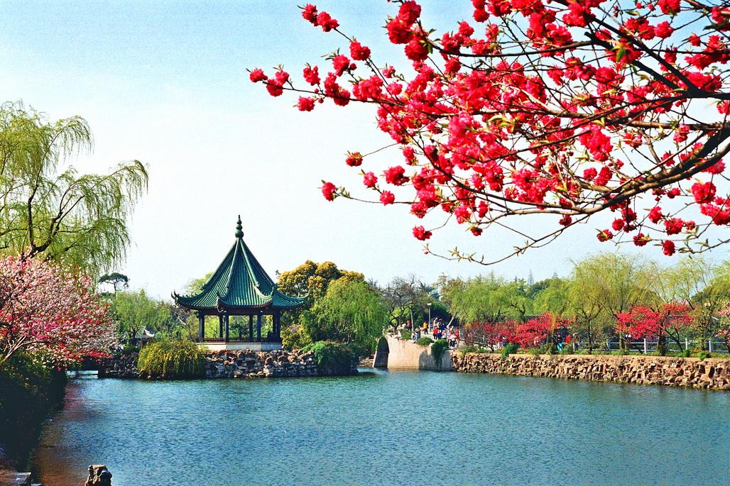 中国最美水亭风景图片