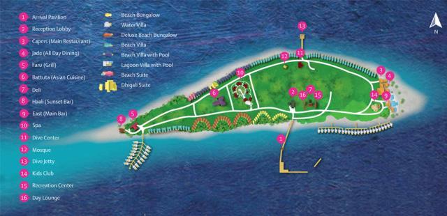 马尔代夫戴加利岛5晚7日自由行(新航转机+1晚马累当地酒店+戴加利岛2沙2水+含早晚餐+内飞往返)