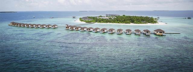 马尔代夫鲁滨逊努努5晚7日自由行(东航直飞,1晚马累当地住宿,鲁滨逊努努岛2沙2泳池水,一价全含、内飞+快艇上岛)